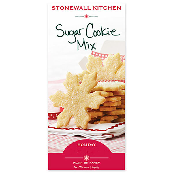 Keep a box of our on-hand and you will have instant delicious sugar cookies in no time. Simply sprinkle with sugar grains before baking or use cookie cutters and have the kids help decorate for extra special celebrations.