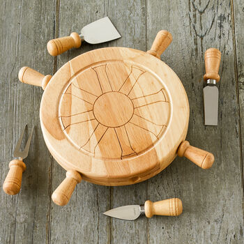 Mariner Lazy Susan Cheese Board