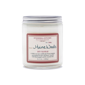 Maine Woods Soy Candle