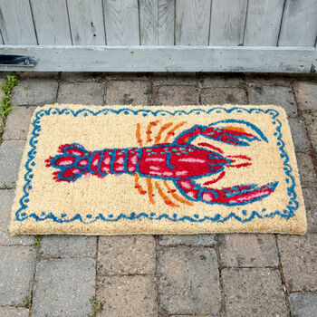 Lobster Coir Mat