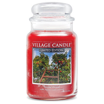 Apple Wood Candle