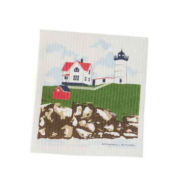 Cape Neddick Swedish Dishcloth