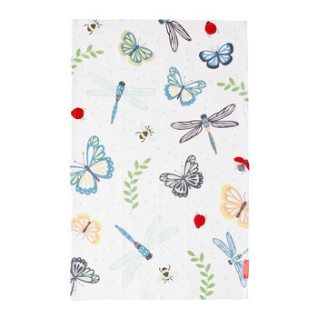 Winged Paradise Tea Towel