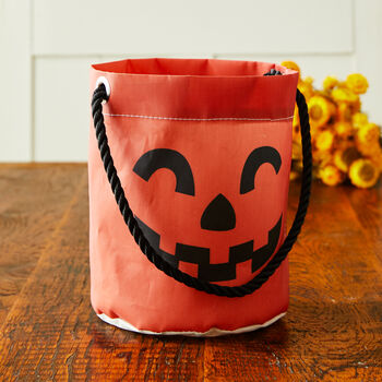 Sea Bags® Jack-O'-Lantern Bucket Bag