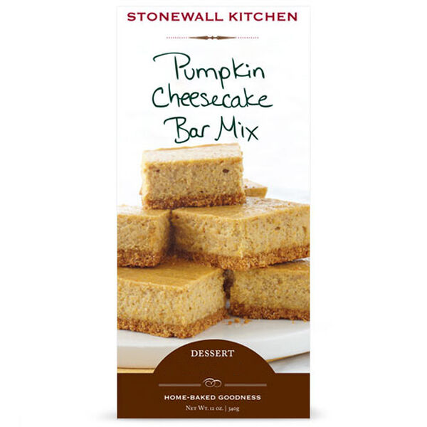 This smooth and creamy pumpkin cheesecake is layered over a sweet graham cracker crust. The combination of pumpkin and spice in a creamy cheescake base makes these dessert bars irresistible. This mix bakes up the perfect little cheesecake bars ideal for serving as dessert or an afternoon snack.