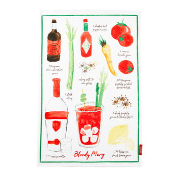 Bloody Mary Tea Towel
