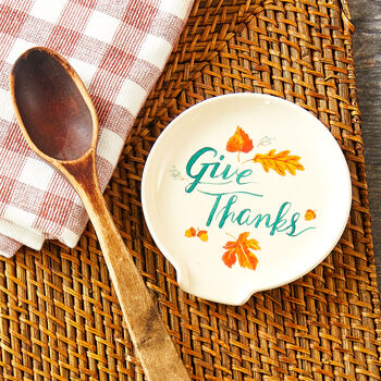 Give Thanks Spoon Rest