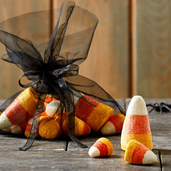 Glitter Candy Corn Bag of 20