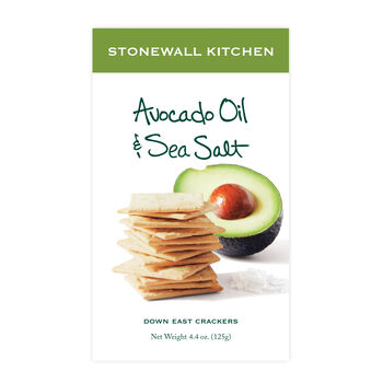Avocado Oil & Sea Salt Cracker