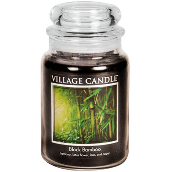 Black Bamboo Candle - Traditions Collection