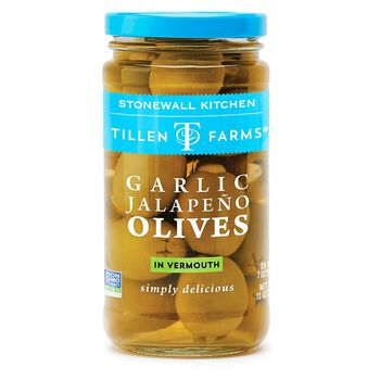 Garlic Jalapeno Olives