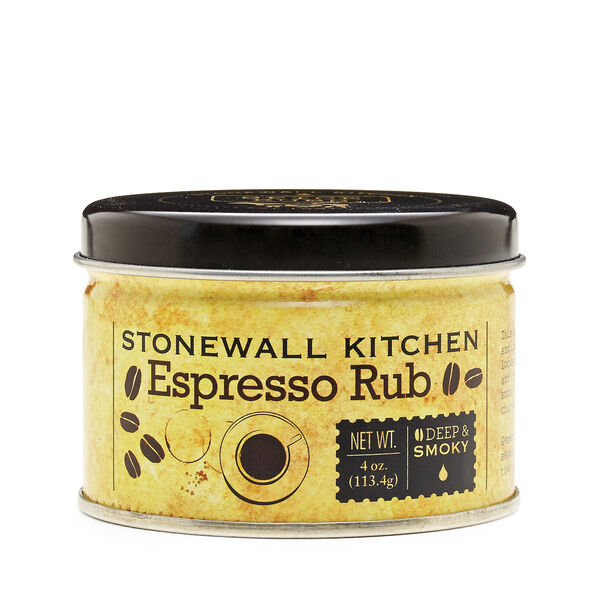 Our Espresso Rub locks in flavor and acts as a natural tenderizer to create a crispy outer crust for a roasted, smoky taste when used on beef, chicken or pork. A unique and delicious combination of spices and ingredients that's sure to please the most discerning grill master.
