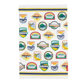 State Parks Tea Towel