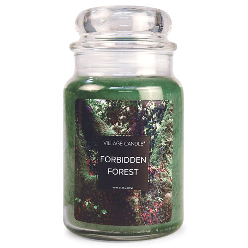 Forbidden Forest Candle