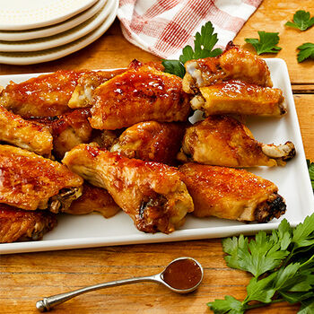 Glazed Chicken Wings