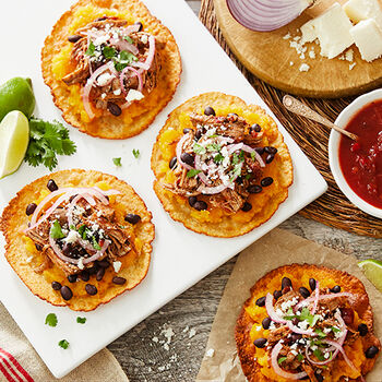 Fall Harvest Tostadas
