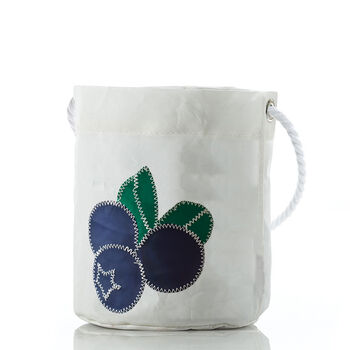 Sea Bags® Blueberry Bucket Bag