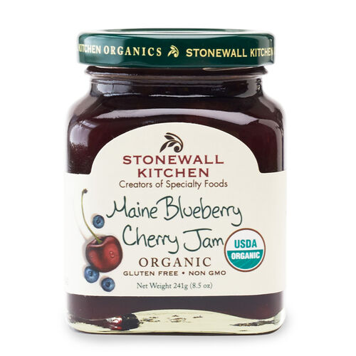 Maine Blueberry Cherry Jam (Organic)