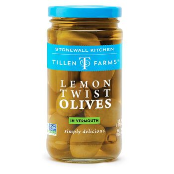 Lemon Twist Olives