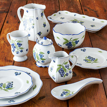 Blueberry Dinnerware
