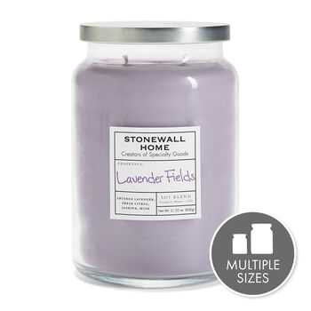 Stonewall Home Lavender Fields Candle Collection