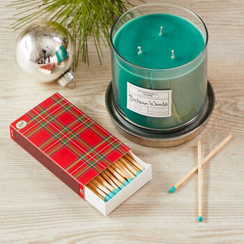 Tartan Plaid Matchbox