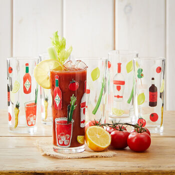 Bloody Mary Glasses (Set of 6)