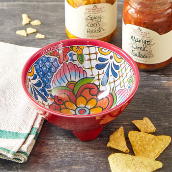 Red Taco Topping Bowl