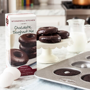 Doughnut Pan & Chocolate Doughnut Mix Gift