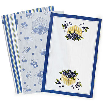 Blueberry Tea Towels (Set of 3)