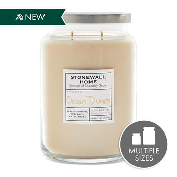Stonewall Home Ocean Dunes Candle Collection
