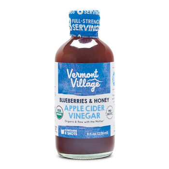Blueberry Honey Apple Cider Vinegar (Organic)