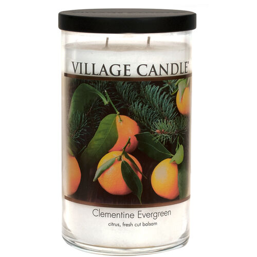 Clementine Evergreen Candle