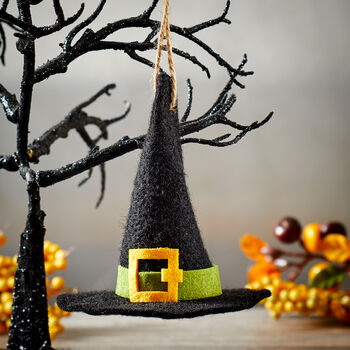 Felt Witch Hat Ornament
