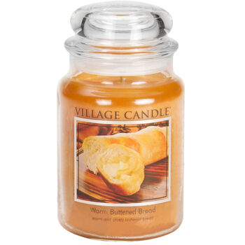 Warm Buttered Bread Candle