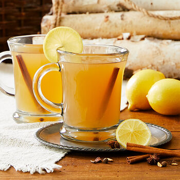 Lemon Maple Hot Toddy
