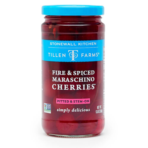 Fire & Spiced Maraschino Cherries