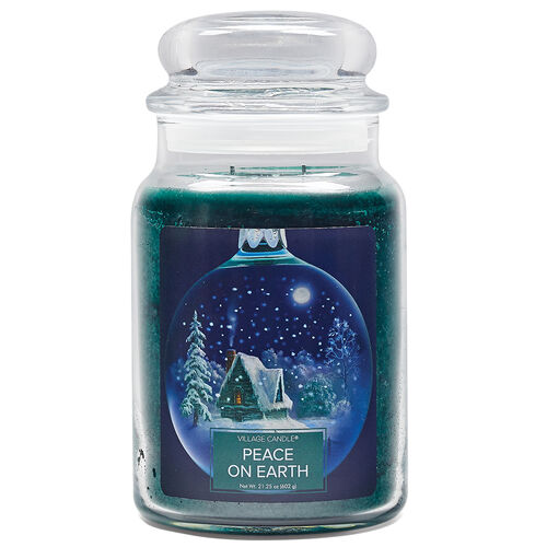 Peace on Earth Candle