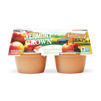 Vermont Grown Unsweetened Apple Sauce