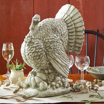 White Turkey Centerpiece