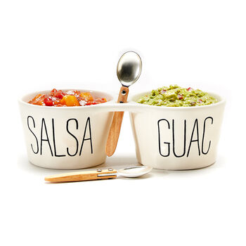 Salsa and Guac Double Dip Set