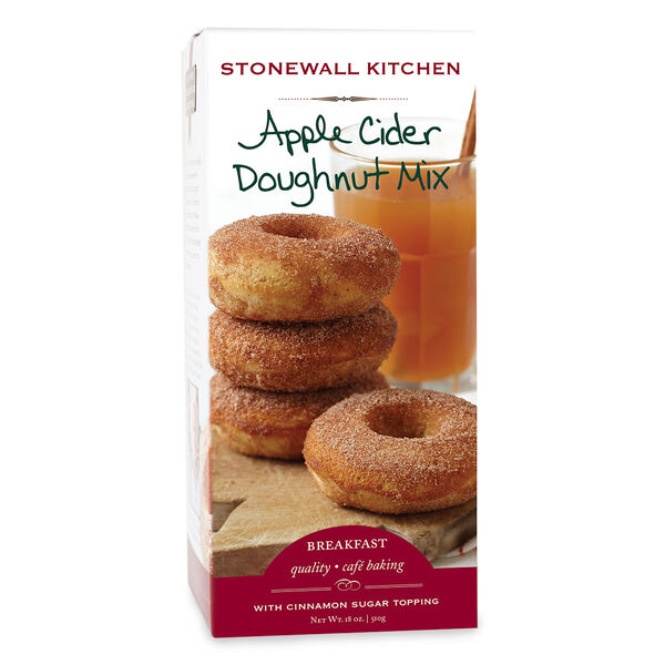 Remember how the best reward from a day picking apples was actually the fresh, hot apple cider doughnut you ate back at the farm? Recreate that moment with our own Apple Cider Doughnuts. Baked, not fried, with an authentic moist cake interior surrounded by the sweet embrace of cinnamon and sugar; a special treat from your oven any time of the year.