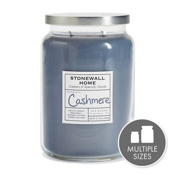 Stonewall Home Cashmere Candle Collection