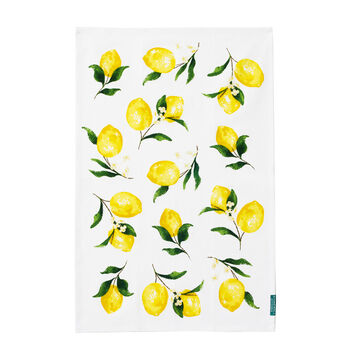 Lemon Tea Towel
