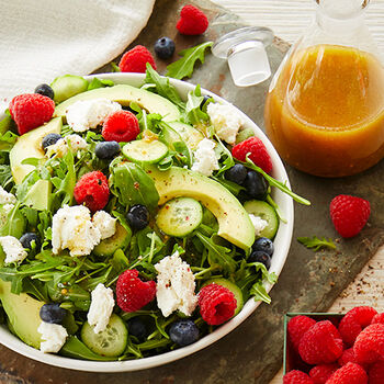 Raspberry Honey Mustard Vinaigrette