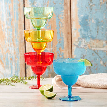 Stacking Margarita Glasses (Set of 4)