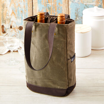 Two-Bottle Insulated Wine Tote