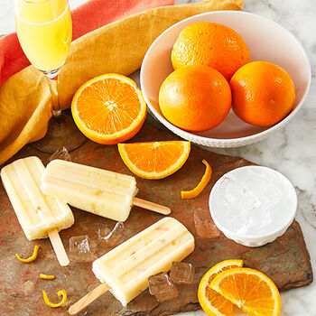 Mimosa Popsicles