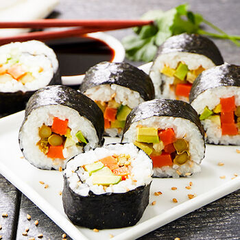 Pickled Vegetable Sushi