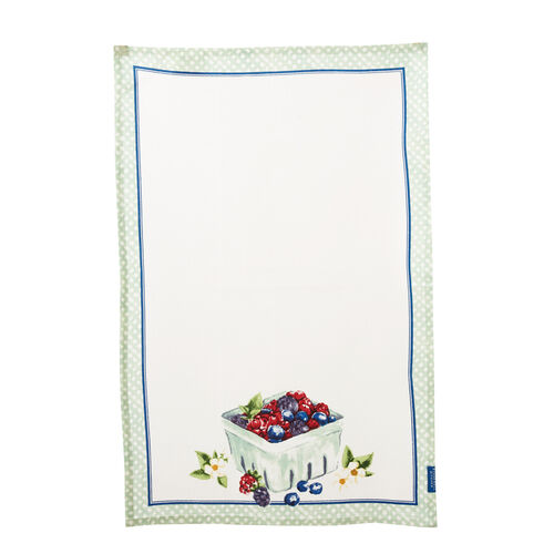 Berry Basket Tea Towel